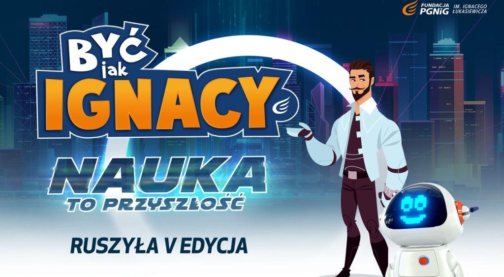 """Logo projektu """"Być jak Ignacy"""""""